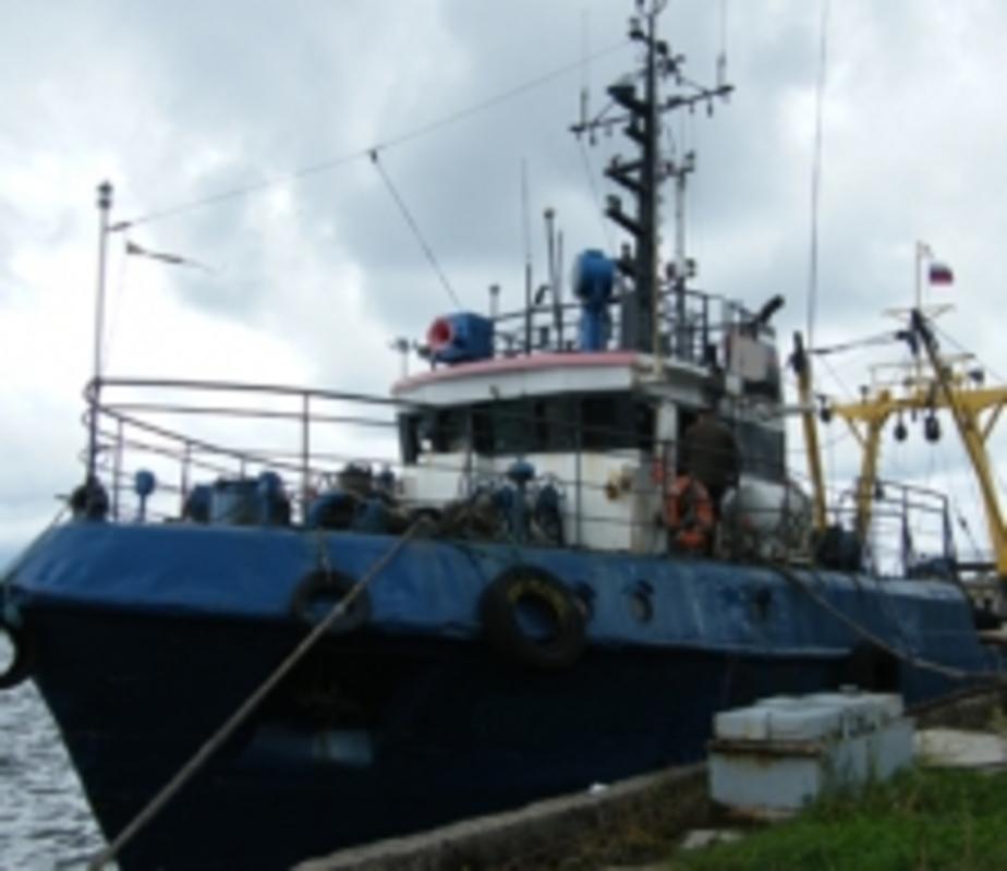 Калининградская фирма погасила долг после ареста рыболовного траулера - Новости Калининграда