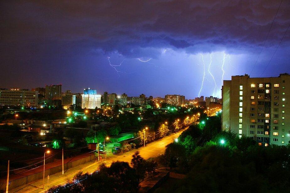 В субботу вечером- воскресной ночью и днем в Калининграде ожидаются ливни- грозы со шквалистым ветром и градом - Новости Калининграда