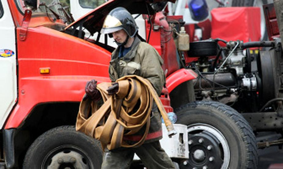 В Нестеровском районе пожарные потушили финский дом - Новости Калининграда