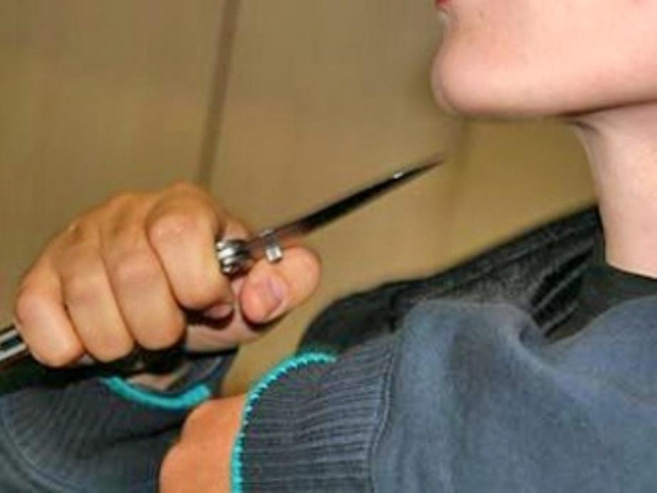 Калининградец приставил нож к горлу невестки своей сожительницы - Новости Калининграда