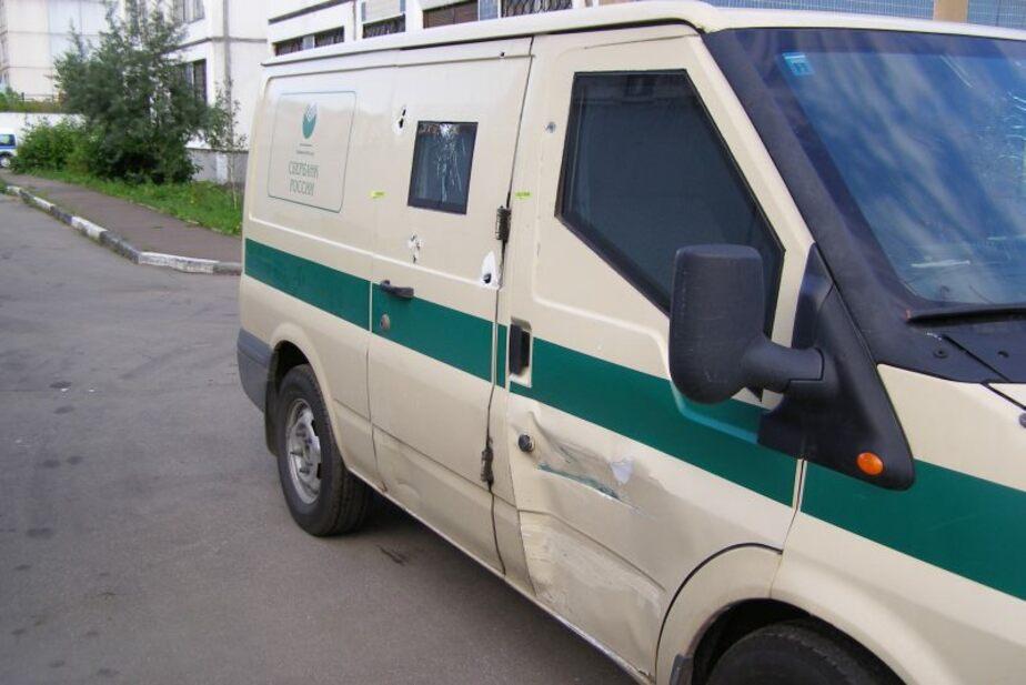 В Калининграде в ДТП попала инкассаторская машина - Новости Калининграда