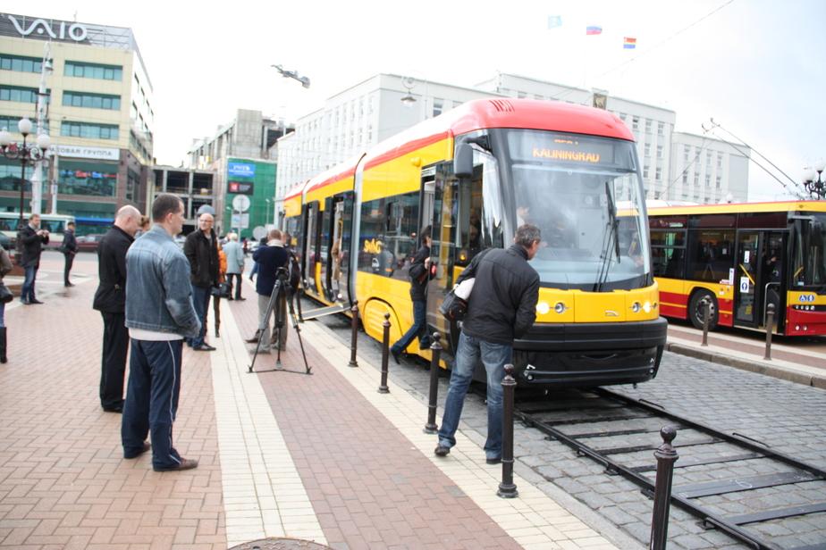 Общественный транспорт в Калининграде полностью обновится к 2018 году - Новости Калининграда