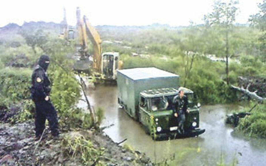 За незаконную добычу янтаря у копателей начнут конфисковывать экскаваторы - Новости Калининграда