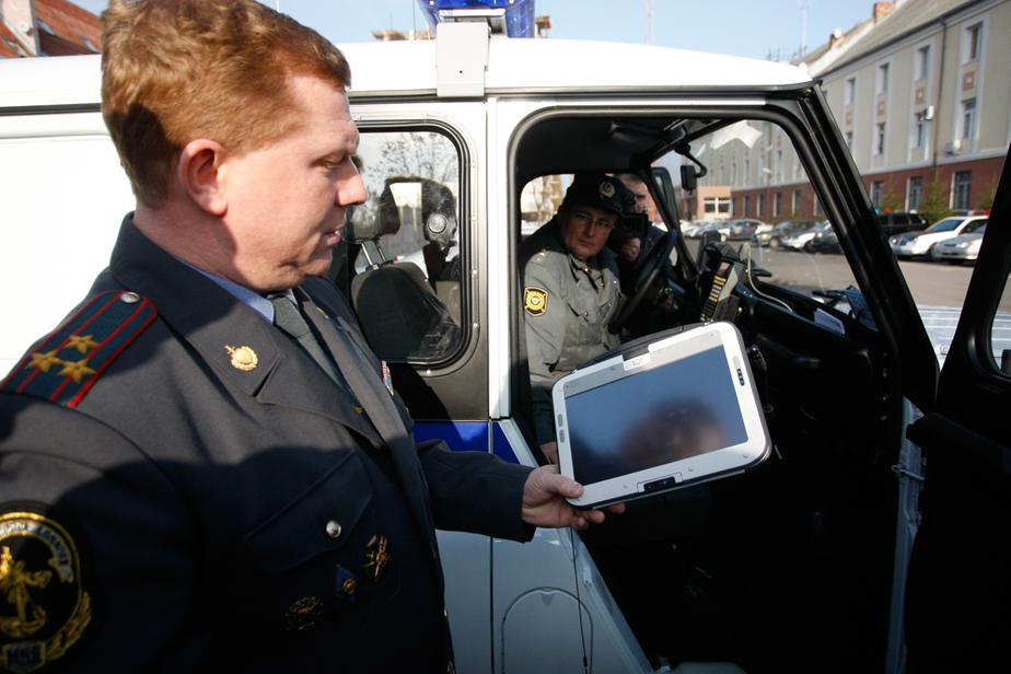 В Калининграде появился полицейский БАРС
