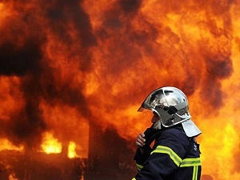 На территории сгоревшей шиномонтажки в Калининграде найден труп - Новости Калининграда