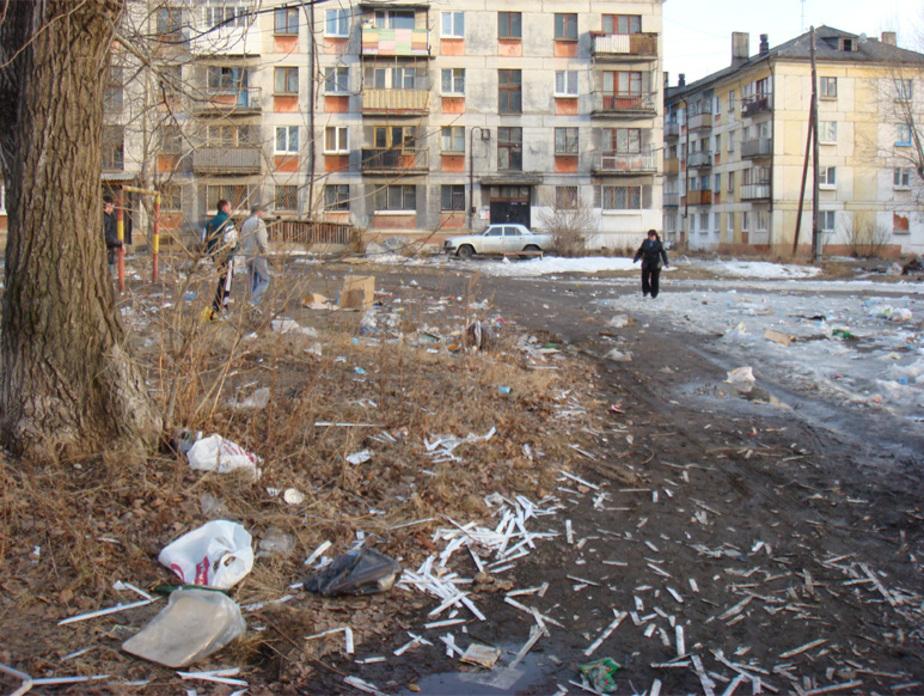 Жителей Неманского района начнут штрафовать за грязные дворы - Новости Калининграда