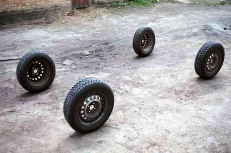 Полиция задержала калининградца за кражу автомобильных колес - Новости Калининграда