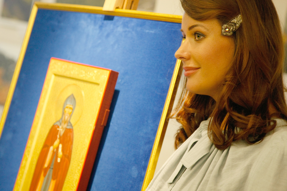 Оксана Федорова открыла в Калининграде выставку икон - Новости Калининграда