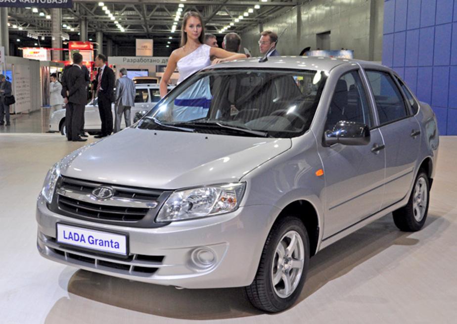 """Первую партию автомобилей """"Lada Granta"""" в Калининграде распродали за два дня"""
