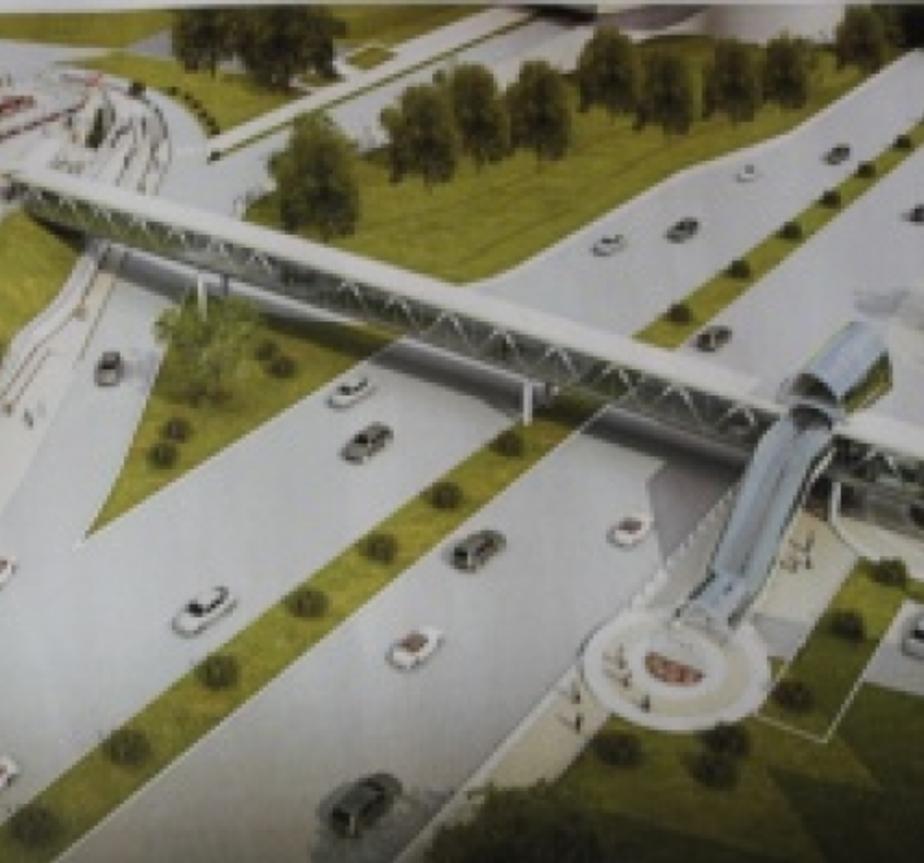 Горвласти пытаются удешевить строительство надземного перехода на Моспроспекте - Новости Калининграда