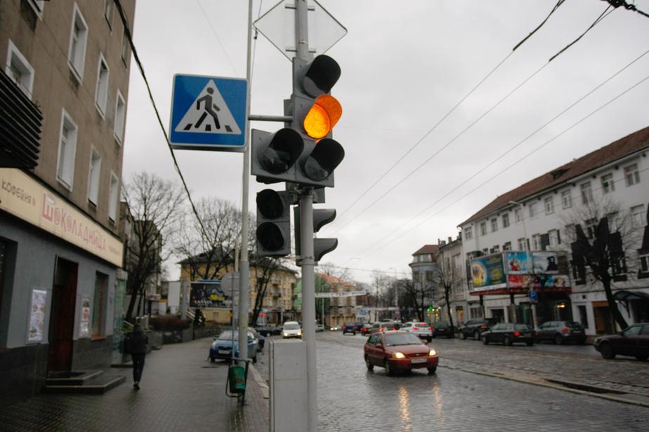 ГИБДД- В Калининграде мигающие светофоры заработают в феврале - Новости Калининграда