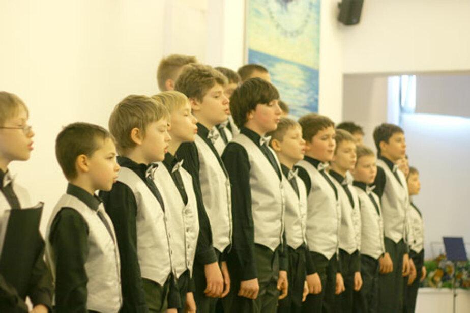 Мальчишки поют! - Новости Калининграда