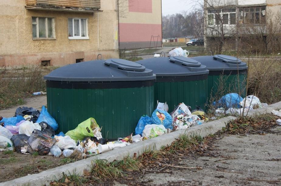 Контейнеры в Янтарном все еще не работают - Новости Калининграда