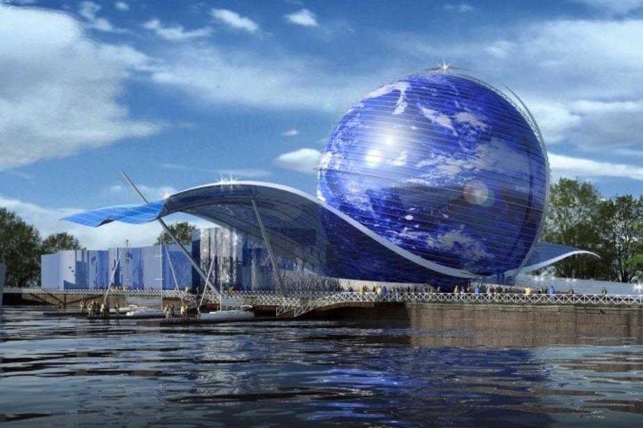 Строительство 45-метрового шара на набережной в Калининграде начнется в 2013г. - Новости Калининграда