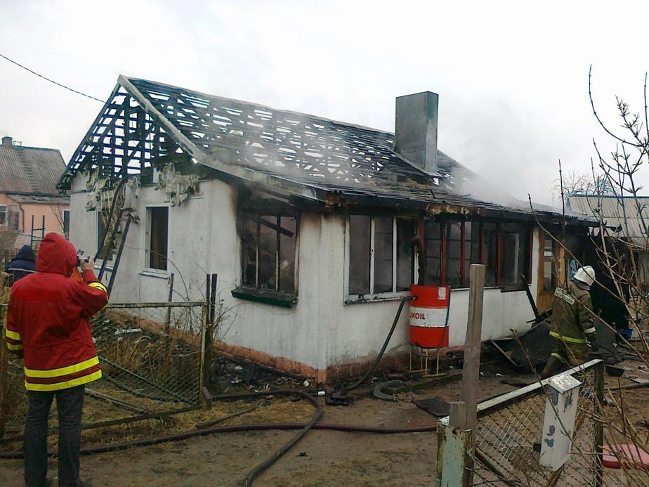 В Советске из-за утечки газа сгорел особняк - Новости Калининграда