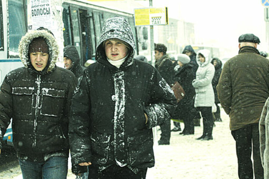 Калининградцев ждет сильный мороз и резкий ветер - Новости Калининграда