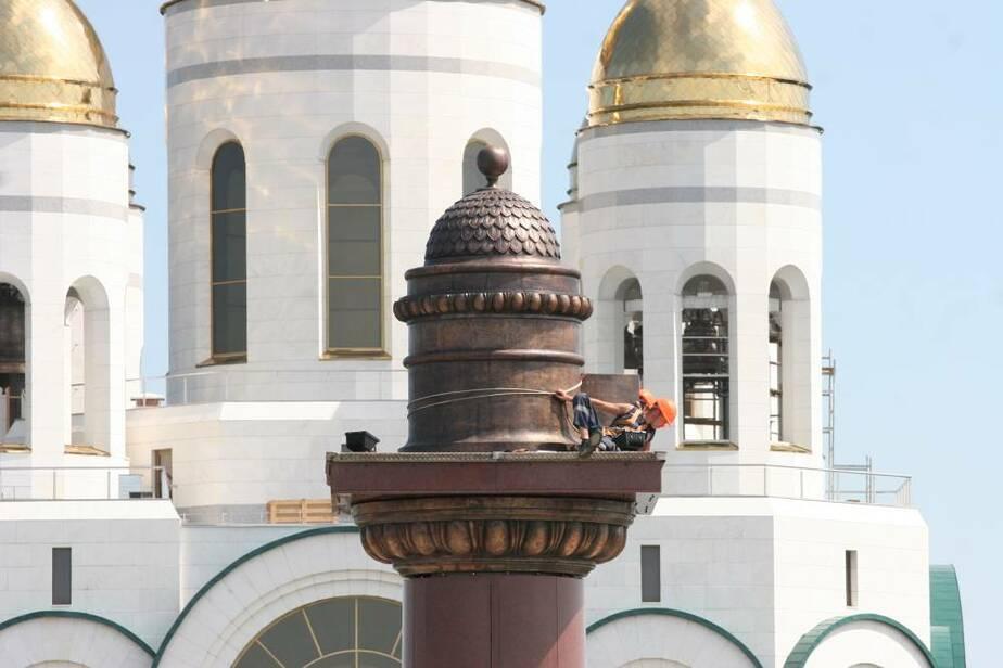 Ярошук заявил- что Триумфальную колонну на пл- Победы увенчает орден Победы - Новости Калининграда