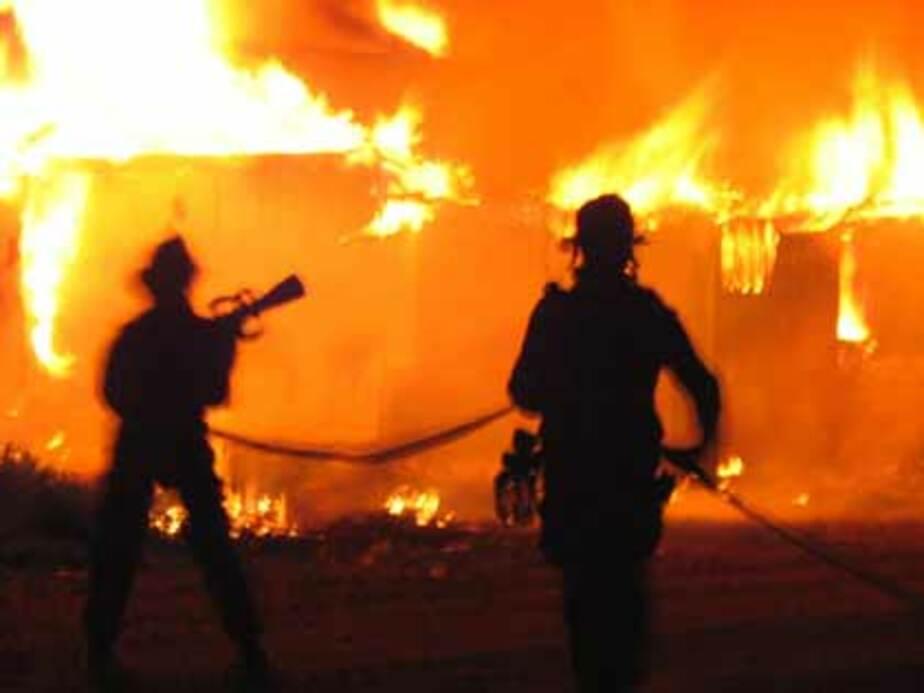 В регионе из-за аномальных морозов выросло количество пожаров - Новости Калининграда