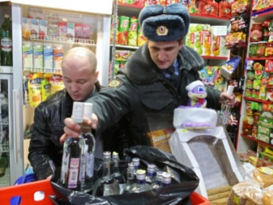 Калининградская полиция объявила войну ларькам с пивом - Новости Калининграда
