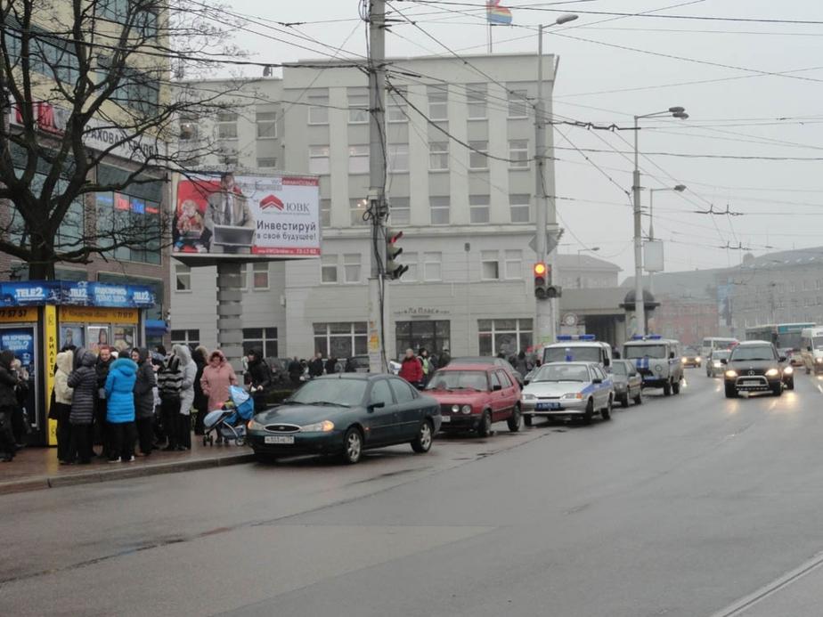 """""""Заминировали"""" еще один торговый центр в Калининграде"""