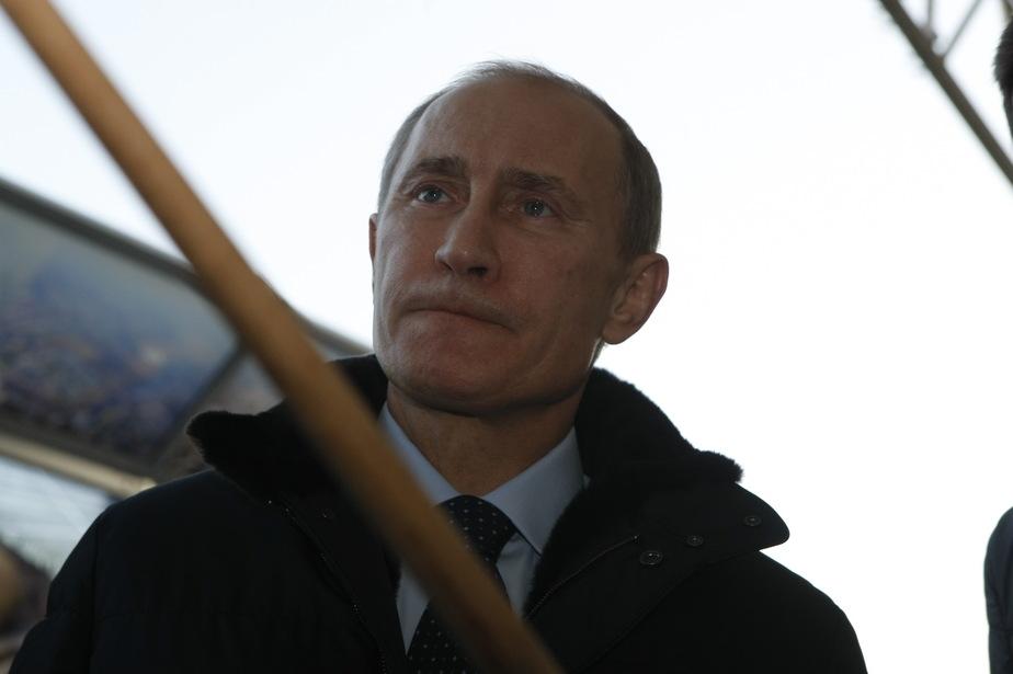 Путин о второй эстакаде- Все делается качественно и красиво