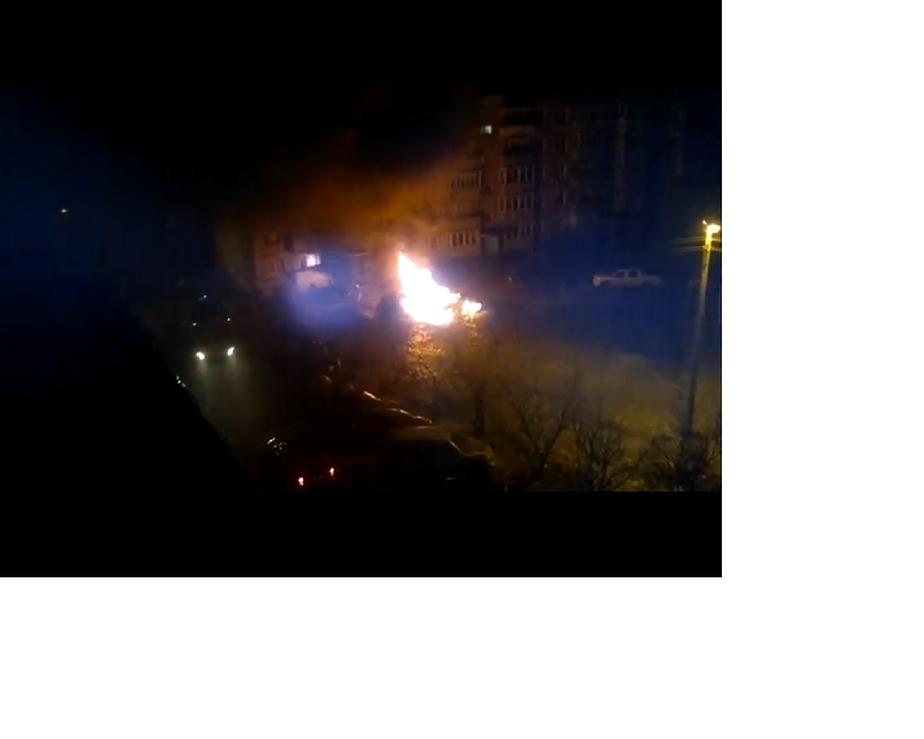 В Калининграде за ночь сгорели четыре машины - Новости Калининграда