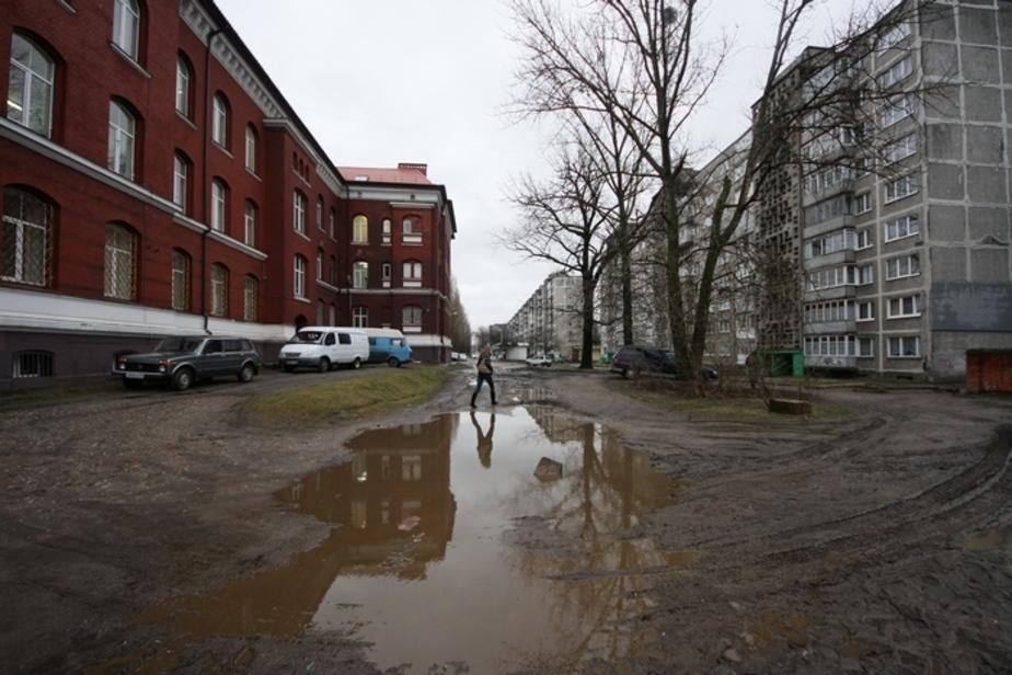 Книга жалоб: Жителям Фрунзе нужны резиновые сапоги - Новости Калининграда