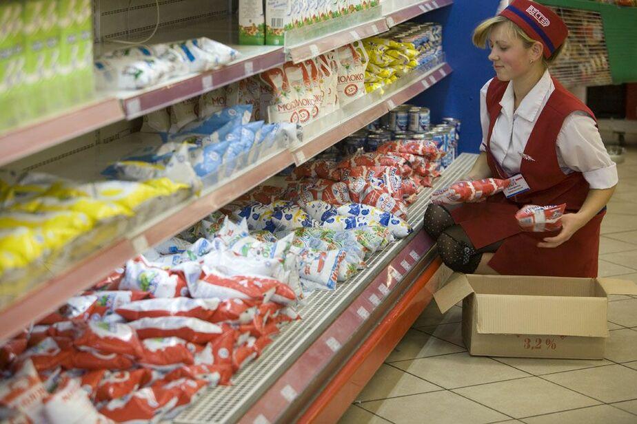 """В продовольственных магазинах """"ВЕСТЕР"""" наценка на молочную продукцию - менее 16-5- - Новости Калининграда"""