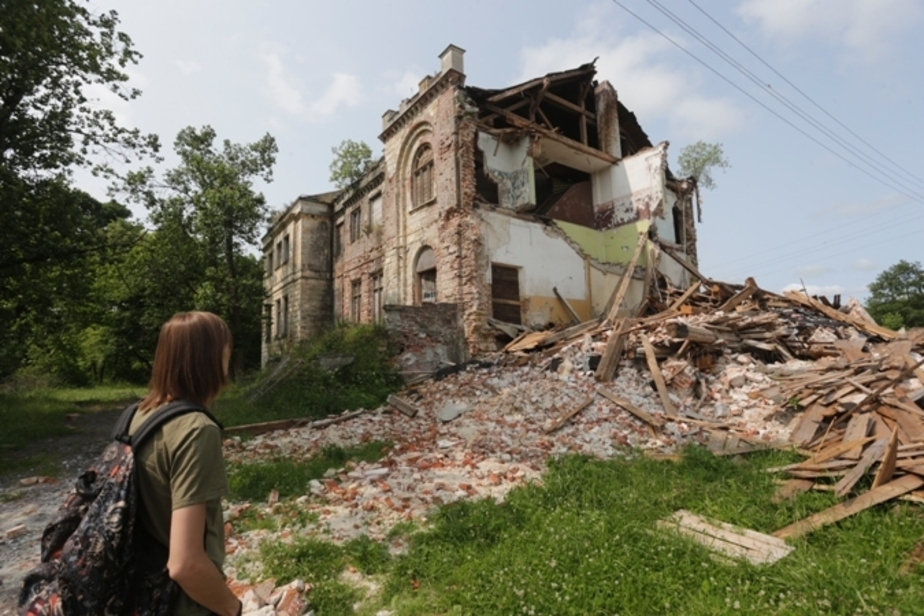 Под Зеленоградском ночью рухнула старинная усадьба Грюнхоф - Новости Калининграда