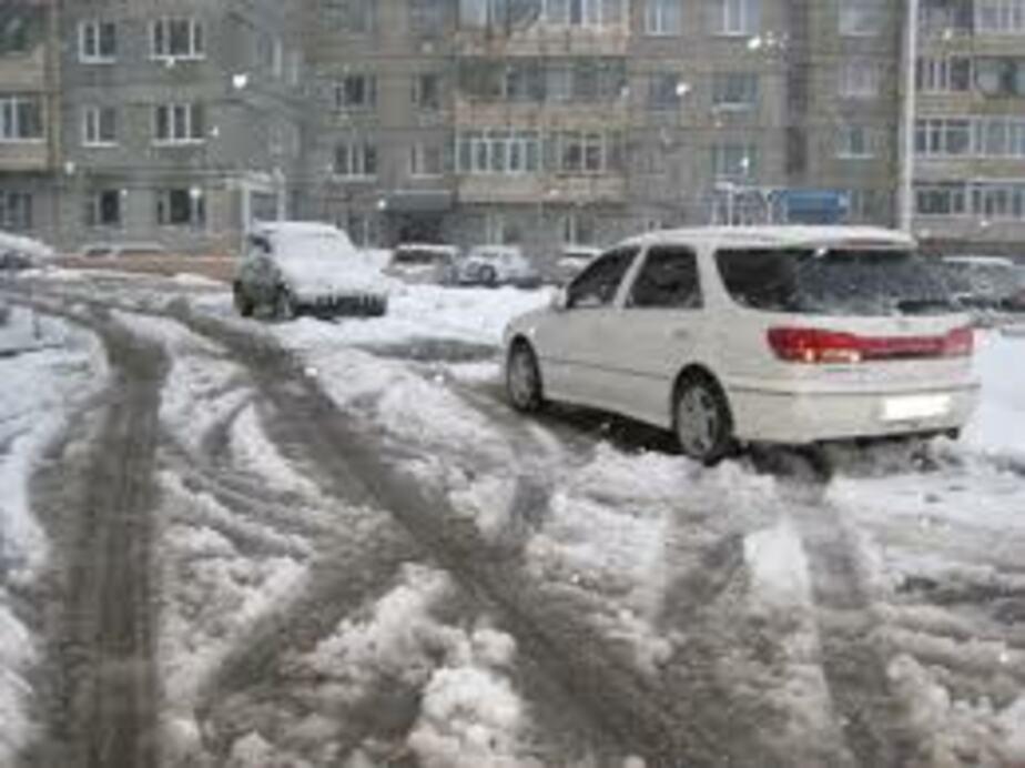 Областные власти расторгнут договор с убирающей снег в Гвардейске фирмой