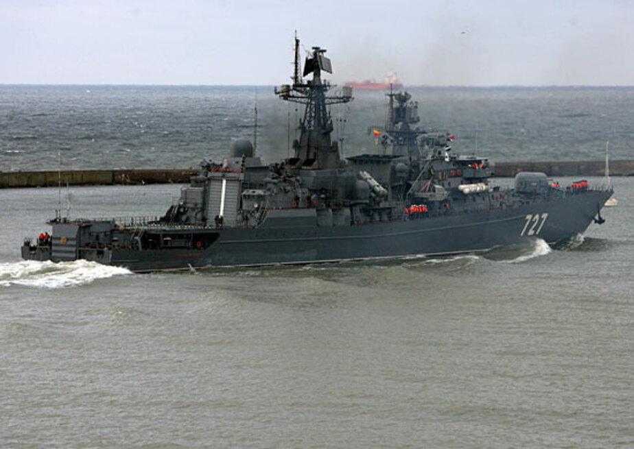 Отряд кораблей Балтфлота взял курс на Средиземное море - Новости Калининграда