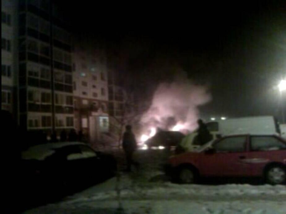 Источник- Сгоревшие на Сельме машины принадлежали сотруднику Багратионовской ГАИ - Новости Калининграда