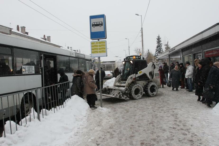 Снегопад в Калининграде- ГИБДД рекомендует водителям воздержаться от поездок - Новости Калининграда