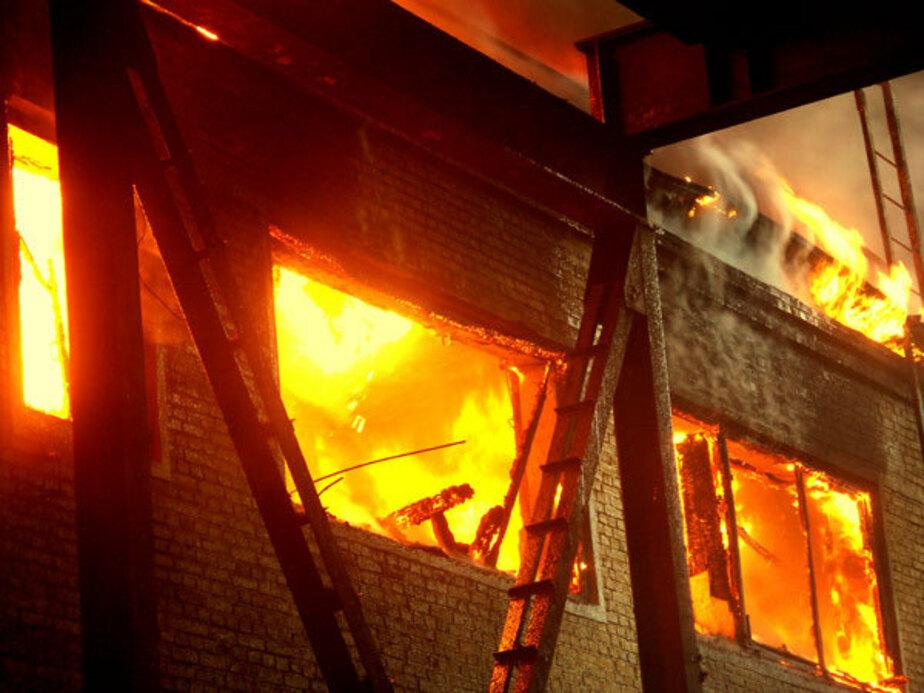 В Правдинске при пожаре погибла 39-летняя женщина
