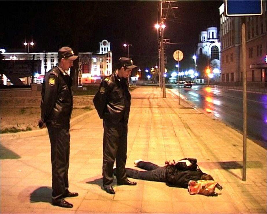 УВД- Калининградцы 4 часа игнорировали лежащего на асфальте мужчину - Новости Калининграда
