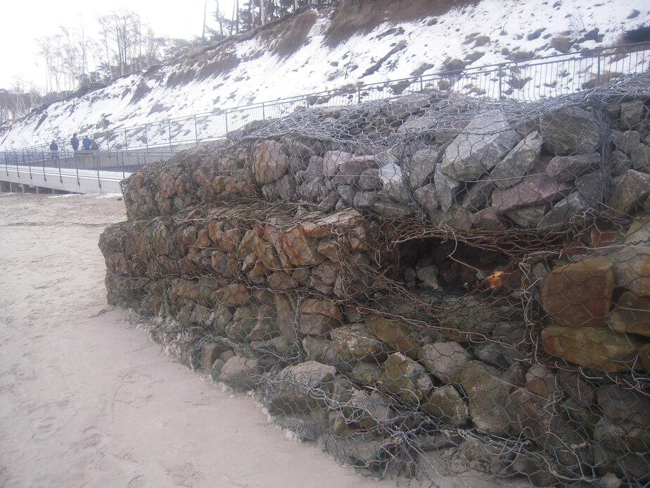 Балтийское море подмывает госрезиденцию в Пионерском - Новости Калининграда