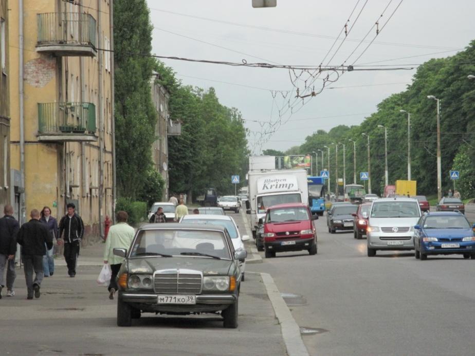 Горвласти: Реконструкция пр. Калинина начнется не раньше 2014 г. - Новости Калининграда
