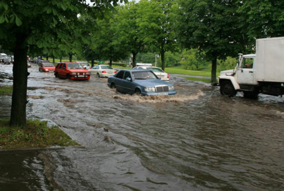 Наступают смерчи, ураганы и потопы - Новости Калининграда