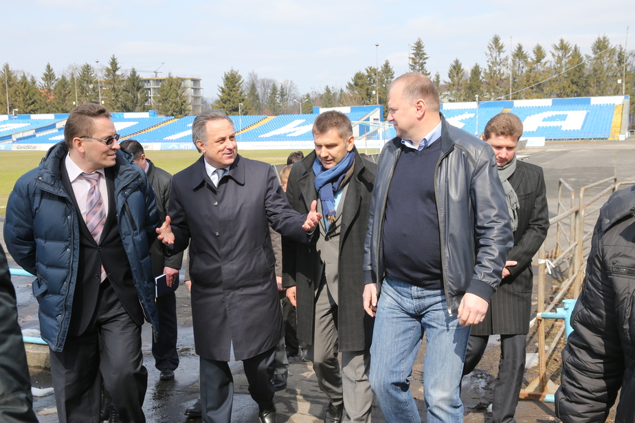 Мутко- Остров станет окончательным местом для строительства стадиона к ЧМ-2018 - Новости Калининграда