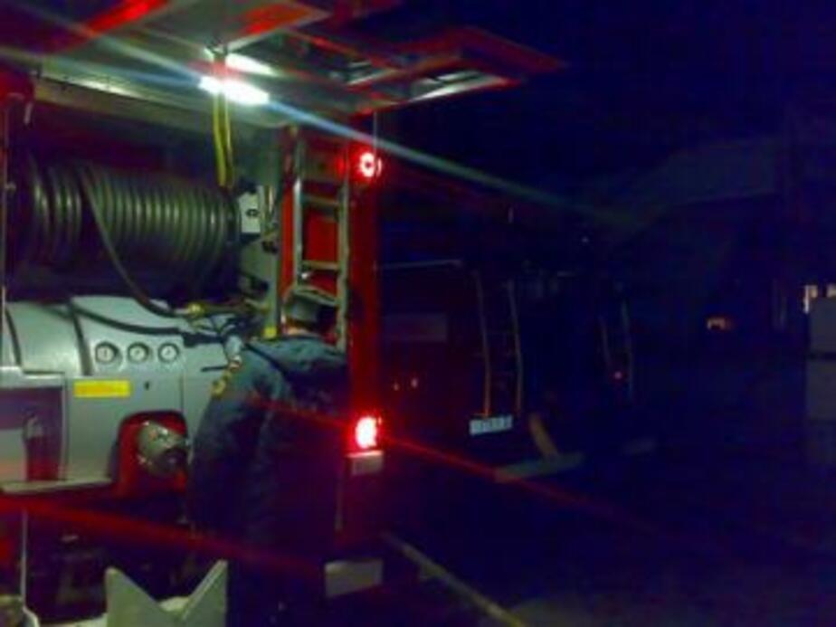 В Калининграде произошел пожар в нежилой квартире дома - Новости Калининграда