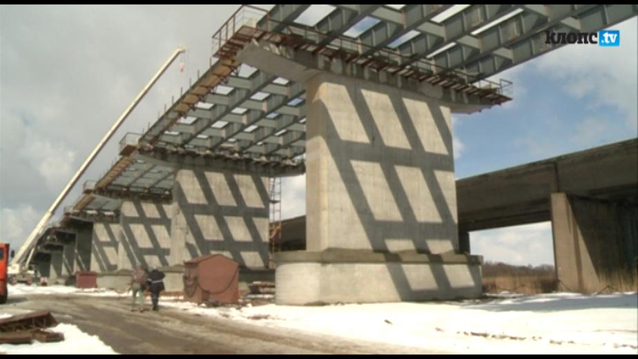 Строители соединили две части нового Берлинского моста - Новости Калининграда