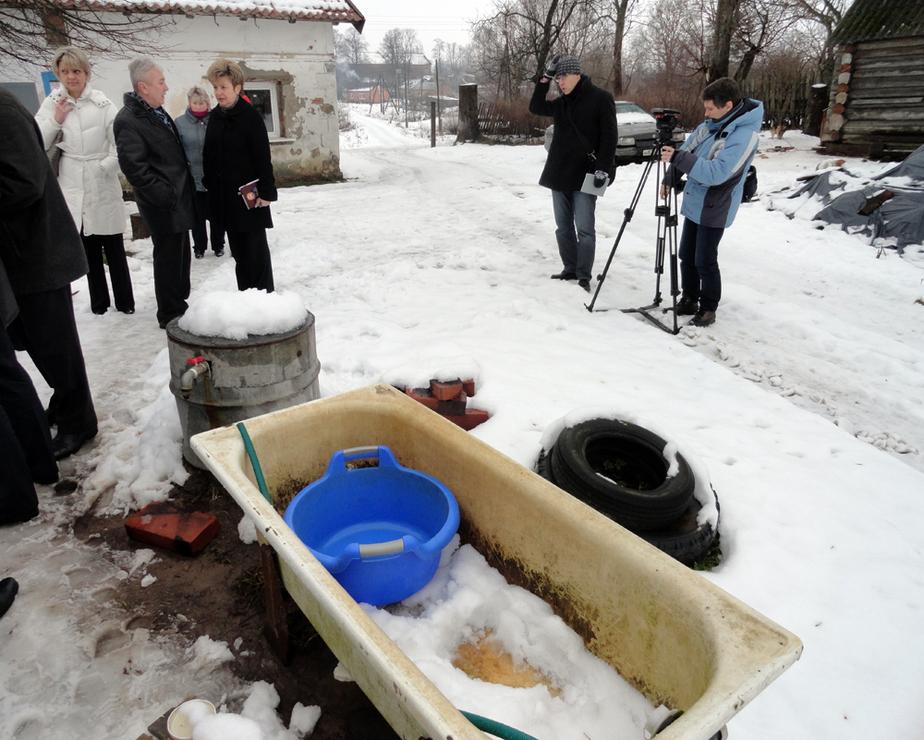 Жители поселка под Гвардейском полгода живут без воды - Новости Калининграда