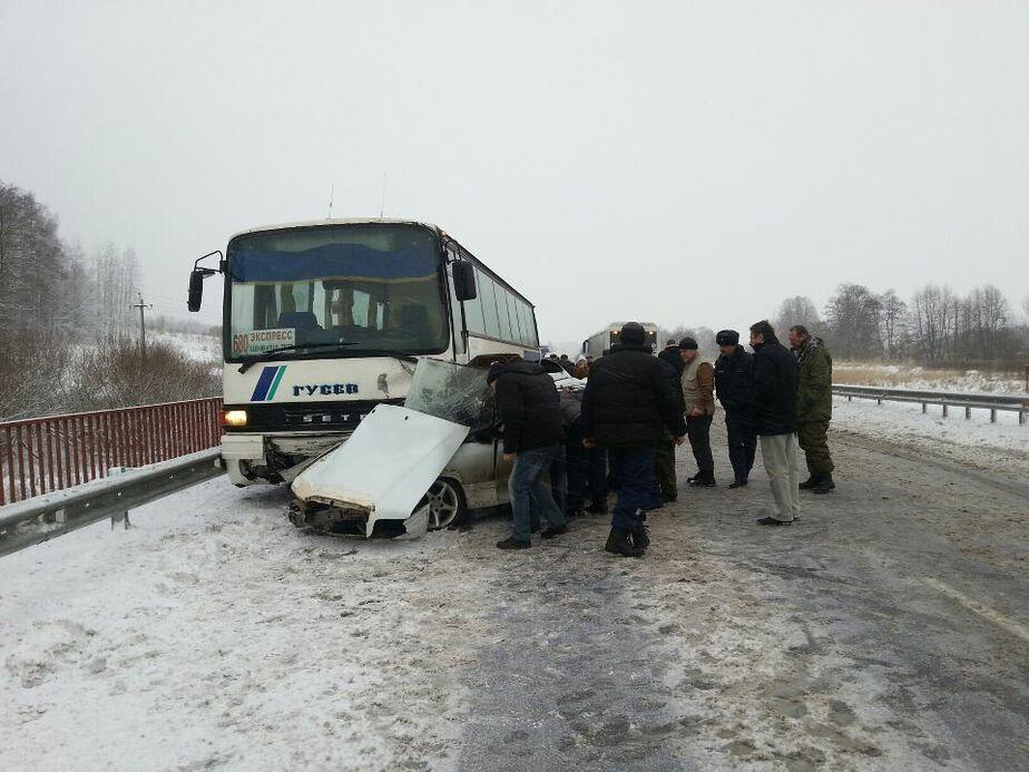 В больнице умер 3-летний ребенок- пострадавший в ДТП с участием автобуса под Черняховском - Новости Калининграда