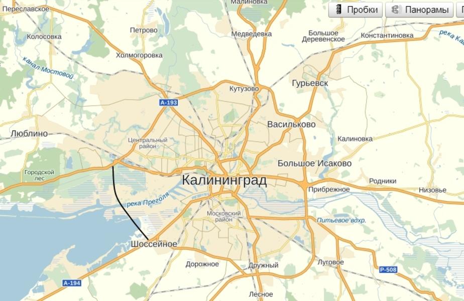Будущий участок Окружной станет платным, если его возведением займется инвестор - Новости Калининграда