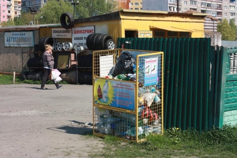 Власти убирают с улиц Калининграда контейнеры для раздельного сбора мусора - Новости Калининграда