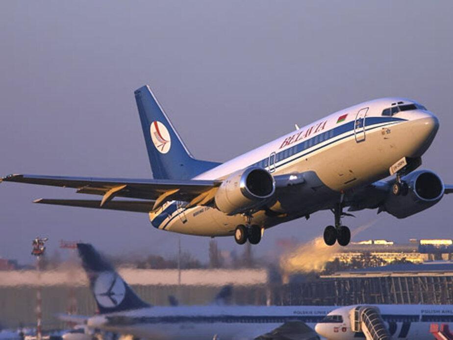 Из калининградского аэропорта вылетели все самолеты- кроме белорусских - Новости Калининграда