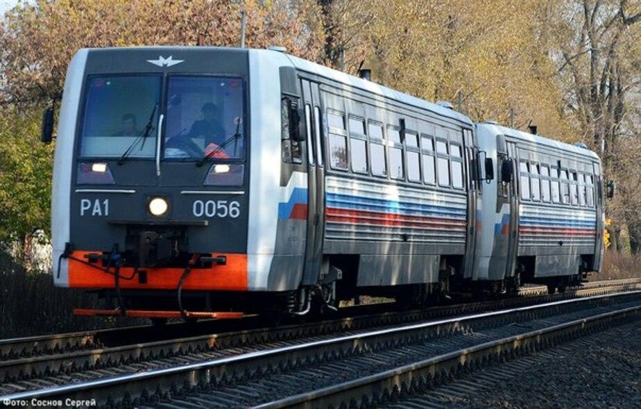 С 12 января отменены поезда Калининград – Чкаловск - Новости Калининграда