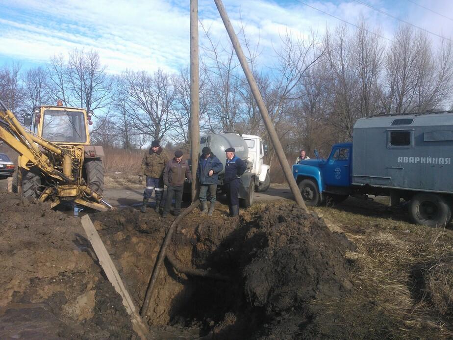 В Черняховске 400 человек остались без воды из-за коммунальной аварии