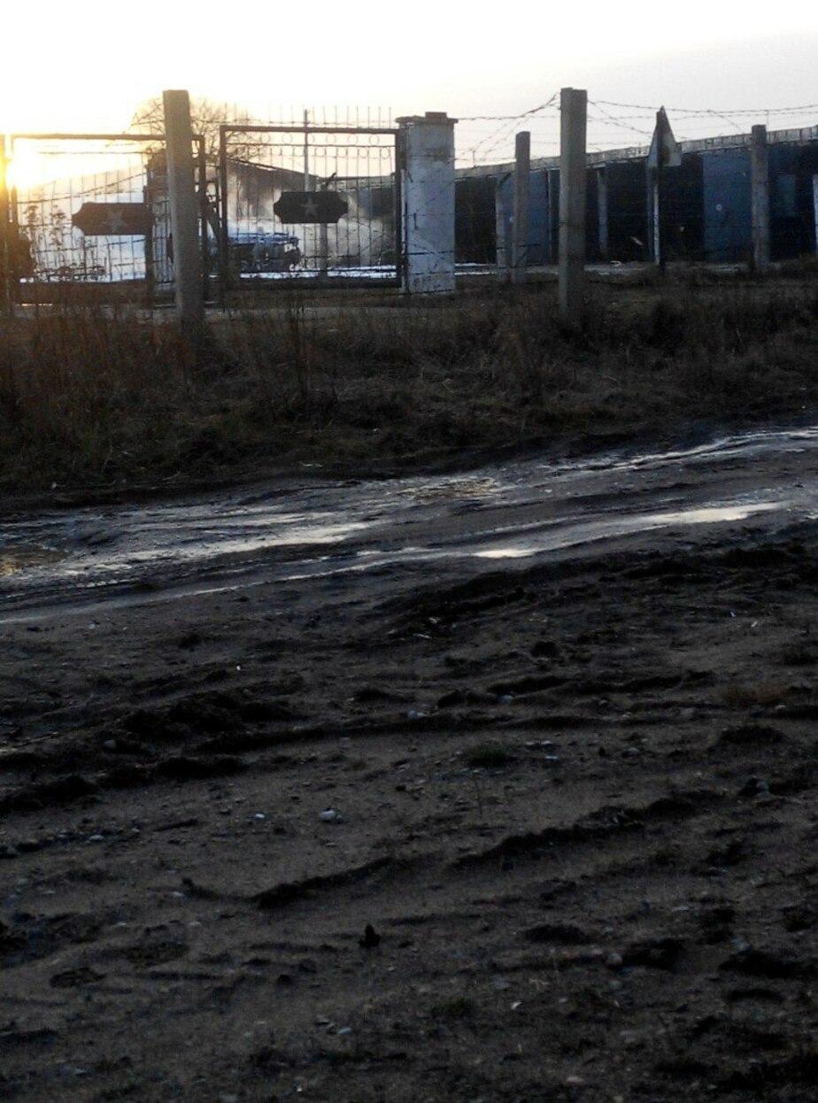 Балтфлот: В воинской части Гусева загорелся БМП-2