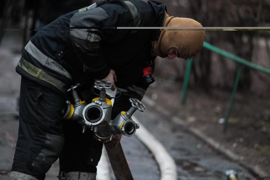 В Нестеровском районе при пожаре пострадал человек